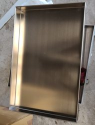 MPI Rectangular Food Trays, For Hotel/Restaurant, Size: As Requested