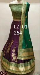Party Wear Wedding Ladies Designer Lehenga, With Blouse And Choli, 20-50