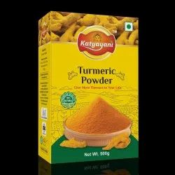 Polished Pan India 500g Turmeric Powder, For Cooking, Packaging Type: Box