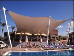 Tensile Swimming Pool Shed