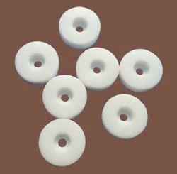 White Polytetrafluoroethylene Teflon PTFE Gaskets, For Industrial, Rounded