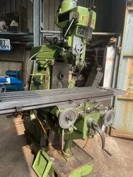 Used & Old Milling Machine Vertical And Horizontal Table Size 1300x280  1400x380 1300x300 Total 3