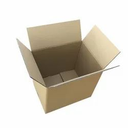 Rectangle Brown Corrugated Cardboard Boxes, Weight Holding Capacity (Kg): 5 - 10 KG, Size (LXWXH) (Inches): Standard