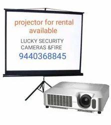 LCD Projector Rental Service, Projection Distance: 1 - 3.5 m, Vinukonda (upto 50 Km)
