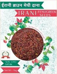 Irani Brown Methi Seeds, Packaging Type: Packet, Packaging Size: 1 Kg