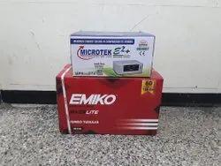 Microtek 1225VA and EMIKO 150AH