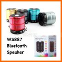 Ws-887 Mini Super Bass Splashproof Wireless Bluetooth Speaker