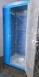 Single Skin FRP Toilet (Low cost)