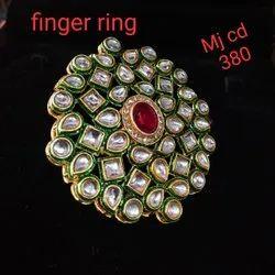 Designer Kundan Rings