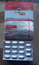 Vildagliptin & Metformin Tablets 50mg/1000mg
