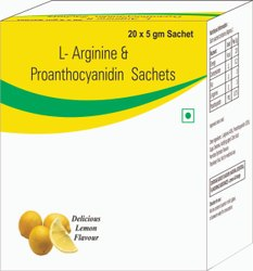 L-Arginine & Proanthocyanidin Sachets