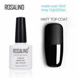Nail Art Matt Top coat Rosalind