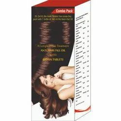 ANTI HAIR FALL OIL WITH BIOTIN TABLETS