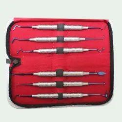 Composite Filling Instruments T.C. Blue Set Of 6Pcs