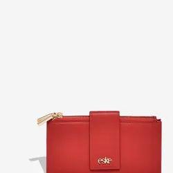Eske Myra Flap Double Zip Wallet