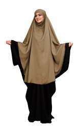 OEM Factory Price Free Size Plain Women Prayer Khimar Abaya Wholesale Supplier