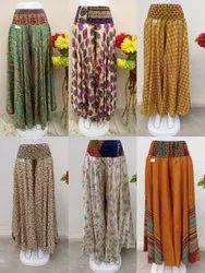 Silk Sari Plazo