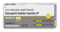 Enoxabio-40 Enoxaparin Injection 40 mg/0.4 ml