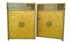 Yellow Iron Exterior Gate, For Residential