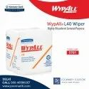 Wypall  L40 Wipers,  Quarter Fold, White, 5701
