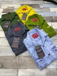 Collar Neck Plain Rfd Shirts