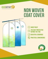 Garments Non Woven Suit Cover, For Shopping