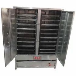 Jas Semi-Automatic Commercial Idli Cooker For Hotel