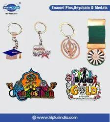 Metal Enamel Keychains