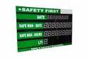 Lost Time Injury Clock - LTI Display Unit