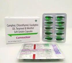 Camphor Steam Inhalant Capsule(CAMEUCLEAR)