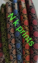 N K Prints Cotton Nighty Running Fabrics