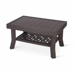 92 Cm X 63 Cm X 33 Cm 5.1KG Supreme Vegas Center Modern Plastic Table