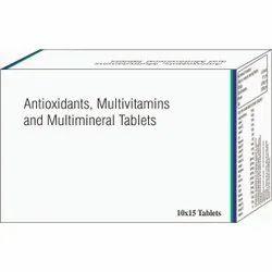 Antioxidants, Multivitamin And Multiminerals Tablets