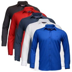 Generic Cotton Shirts, Size: 32-44,M-XXL