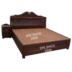 Hotel Cot Bed With Side Storage
