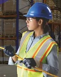 Cotton Jersey Nitrile Coated  Gloves with Knit Wrist
