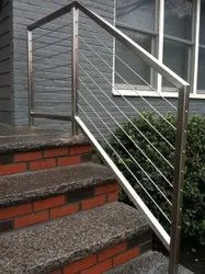 Stairs Stainless Steel Railings System, For Home, Floor