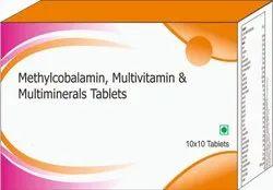 Methylcobalamin, Multivitamin & Multiminerals Tablets