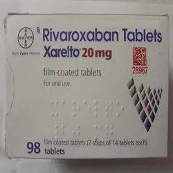 Xarelto Rivaroxaban 20 mg Tablet