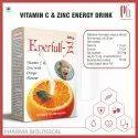Energy Drink Powder With Vitamin C and Zinc in Orange Flavor