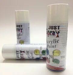 Fluoresent White - Aerosal Spray Paint - Just Spray