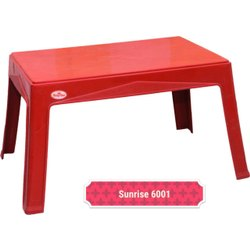 Red Kids Plastic Table