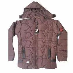 Full Sleeve Casual Jackets Men Fluffy Jacket, Size: Large