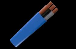 Wire Material: Copper Rubber 3 & 4 Core Flat Submersible Drop Cables, 1sq.mm To 240 Sq.mm
