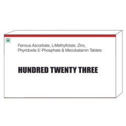 Ferrous Ascorbate L Methylfolate Zinc Phyridoxile 5 Phosphate & Mecobalamin Tablets