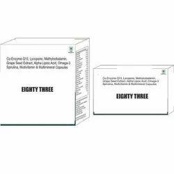 Co Enzyme Q10 Lycopene Methylcobalamin Grape Seed Extract Alpha Lipoic Acid Omega 3 Spirulina Caps