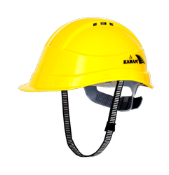 Karam PN542 Safety Helmet With Vents And Ratchet
