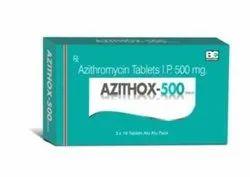 Azithox 500 mg Azithromycin Tablets
