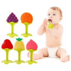 Itsyyboo Multicolor Itysyyboo Fruit Teether For Babies, Packaging Type: Box, 3-12 Months