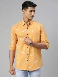 Cotton Printed Men Casual Shirts